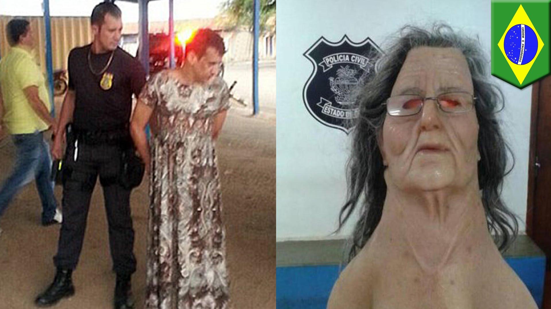 女装ブラジル脱獄