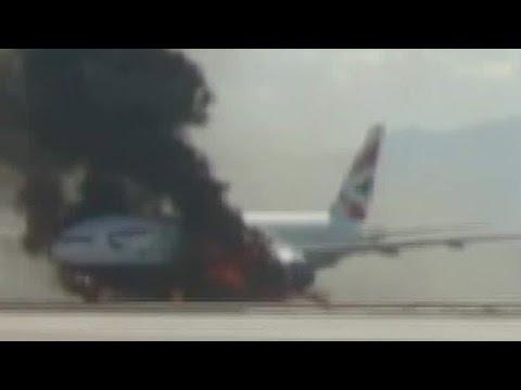 エアウェイズ機ラスベガス炎上