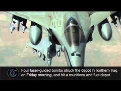 フランス軍イスラム国空爆
