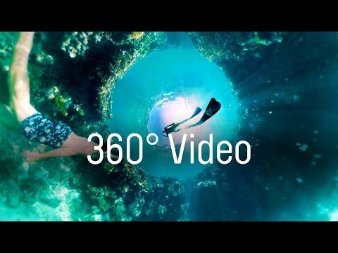 360度動画ハミルトン島