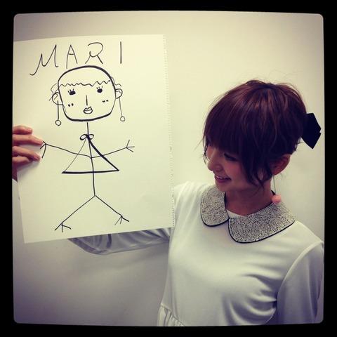 AKB48「篠田画伯」が元モーニング娘。保田圭