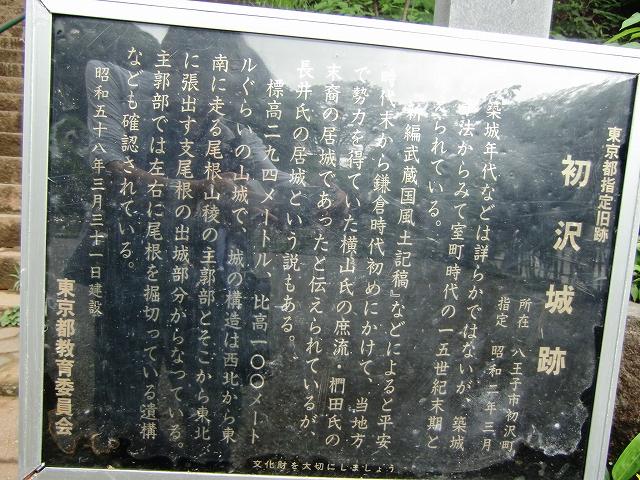 088初沢城20110619 CIMG9541