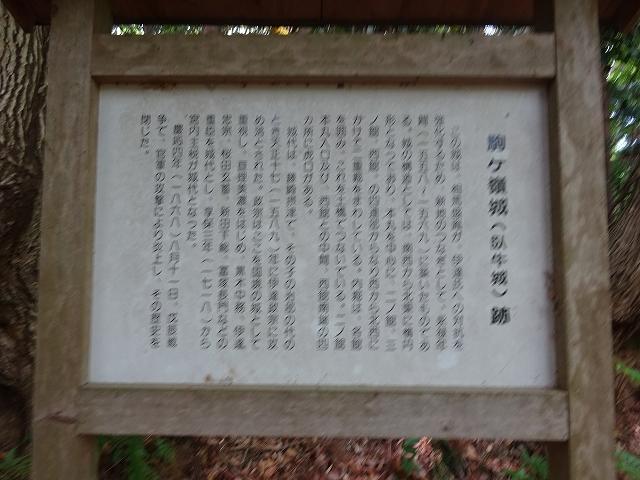 130駒ヶ嶺城20180430 DSC02640