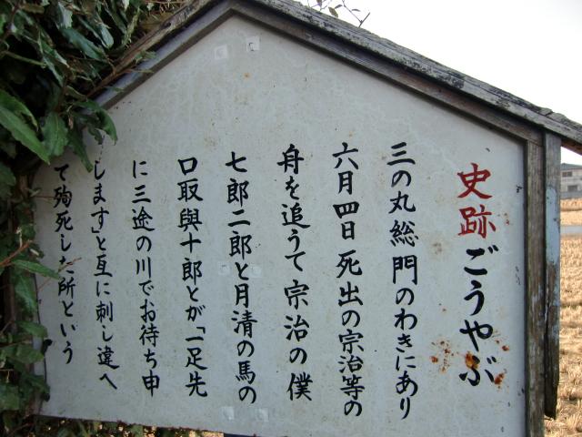 076備中高松城20101128 CIMG4475