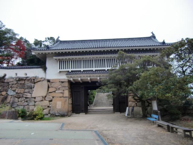 058岡山城20101130 CIMG5525