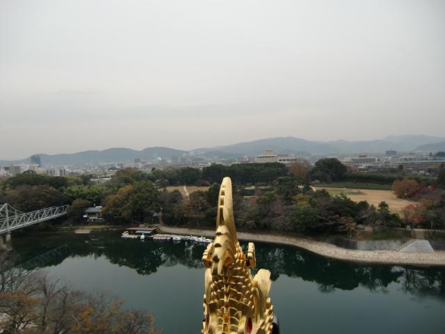 058岡山城20101130 CIMG5544