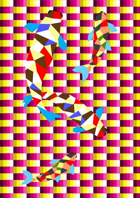 立体-鯉アート-13