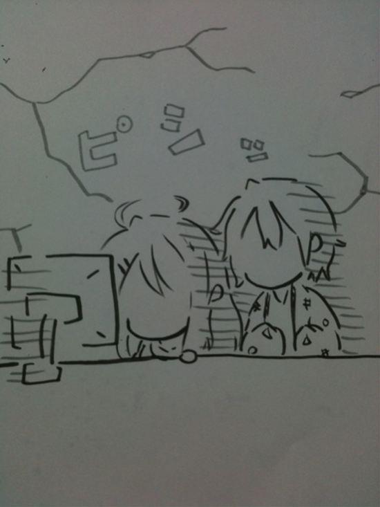 194-3安価で四コマ漫画