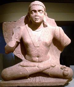 マトゥラー出土の弥勒菩薩像