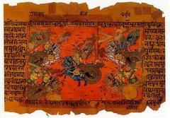 『マハーバーラタ』より「クルクシェートラの戦い