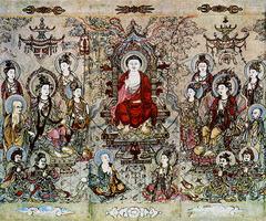 『釈迦牟尼仏陀』、画家張勝溫