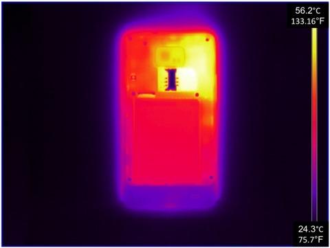 スマートフォン発熱影響の知識(低温やけど・電池の劣化)
