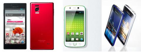 おすすめの格安スマートフォン(MVNO向け)