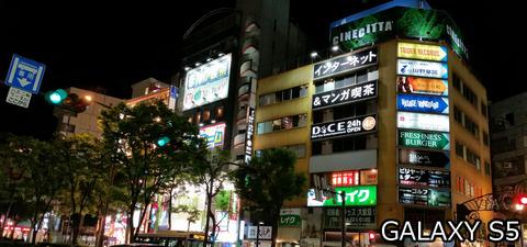 川崎の夜@GALAXY S5