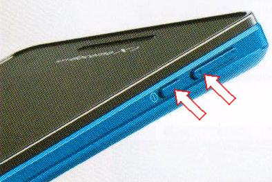 Xperia AX SO-01Eのスクリーンショット撮影