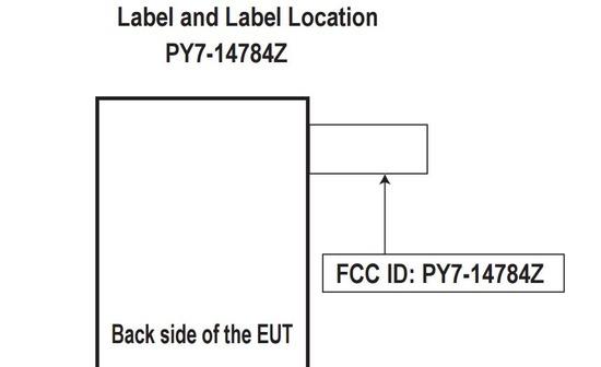 バッテリー2700mAh…、次期XPERIA Kugo (PY7-14784Z) がFCC登録