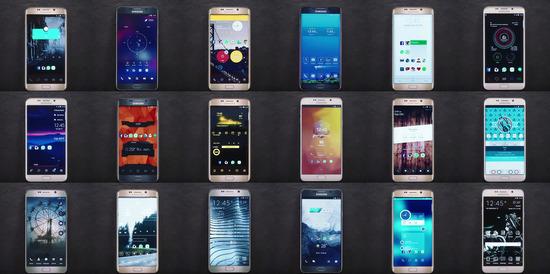 Androidの魅力 カスタマイズ紹介ムービーをSamsungが公開