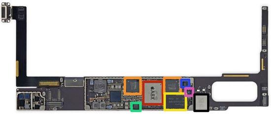 iPad AIR2内蔵部品(CPUやメモリ等)