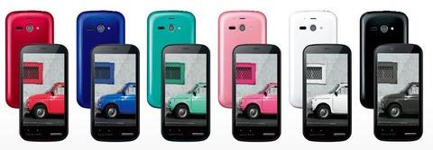 ウィルコム「AQUOS PHONE es WX04SH」簡易レビュー(スクリーンショットやベンチマーク)