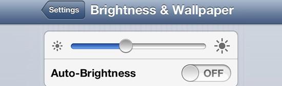 iPhone6&iPhone6 Plusの液晶明るさを適切にする