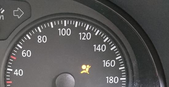 エアバッグ警告灯点灯