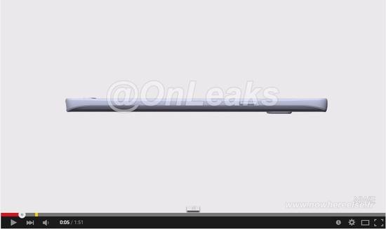 Galaxy S6に似たフォルム