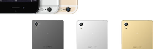 Xperia Z5 と iPhone6S のスペック比較