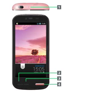 ソフトバンク AQUOS PHONE ss 205SHのスクリーンショット保存