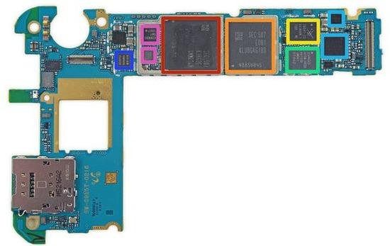 GALAXY S6 Edge Mainboard