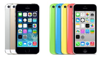 iPhone 5と、iPhone 5S・iPhone 5Cの比較