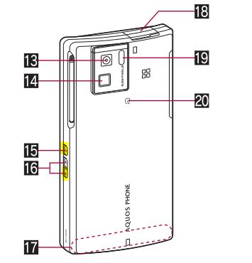 AQUOS PHONE SH-06Dのスクリーンショット保存方法2