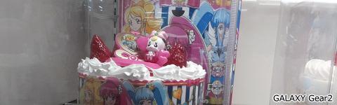 プリキュアのケーキ@Gear2カメラ
