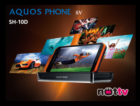 AQUOS PHONE sv SH-10Dに電波関連不具合の修正&OSアップデート
