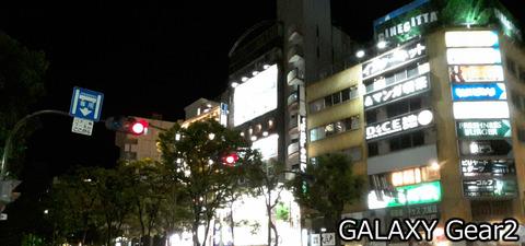 川崎の夜@GALAXY Gear2カメラ