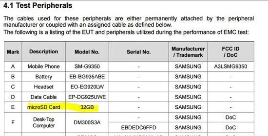 microSD対応のGalaxy S7