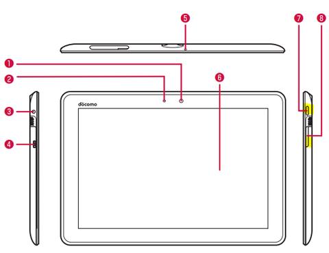 dTab(ドコモタブレット)のスクリーンショット保存方法