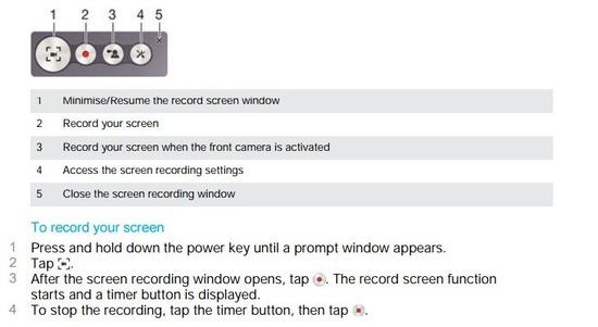 Xperia Z5 画面録画の方法