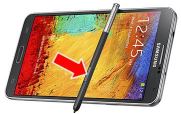 タッチペンを使ったGalaxy Note3(SC-01F, SCL22)のスクリーンショット保存方法