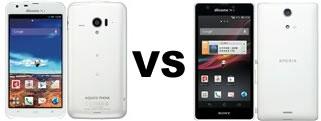 Xperia A SO-04EとAQUOS PHONE ZETA SH-06Eのコスパ比較