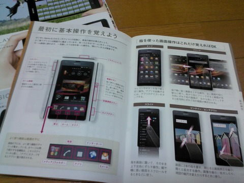 Xperia ULスタートアップガイド