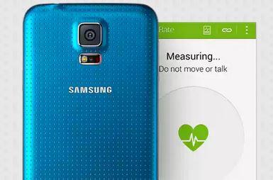 指紋認証機能や、静脈スキャンによる心拍モニター機能