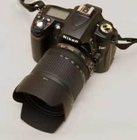 Nikon D90, 18-105mm VR