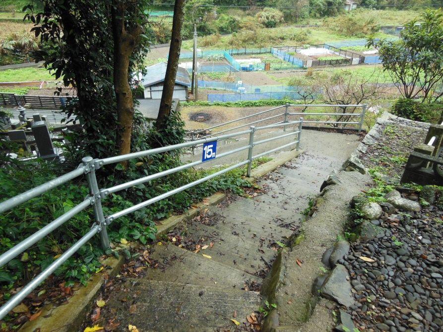 避難経路階段