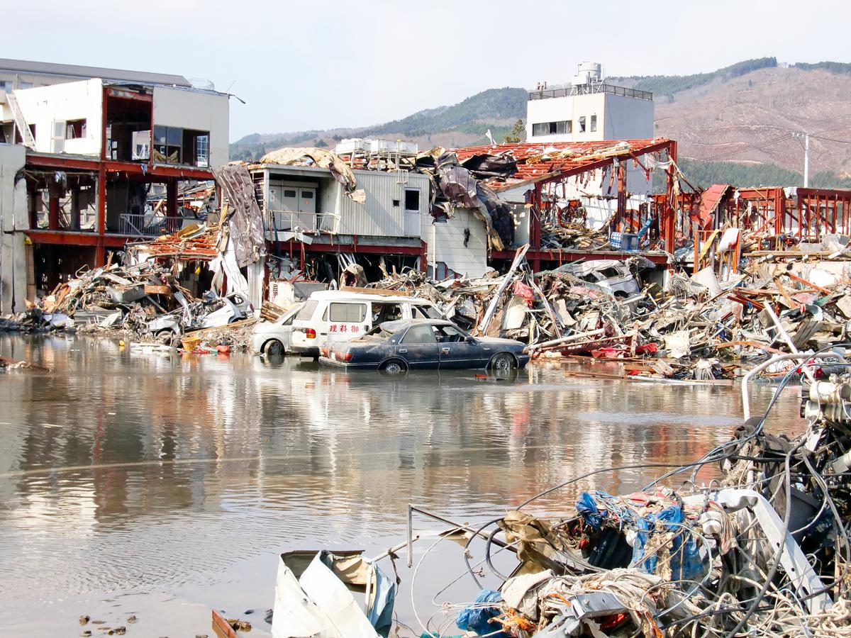 東日本大震災(女川町の被害2)