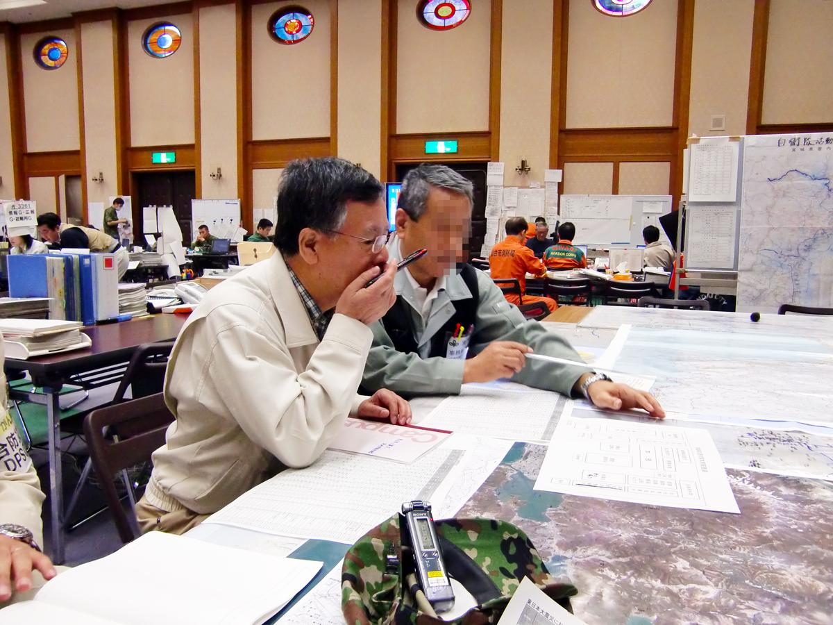 東日本大震災現地調査
