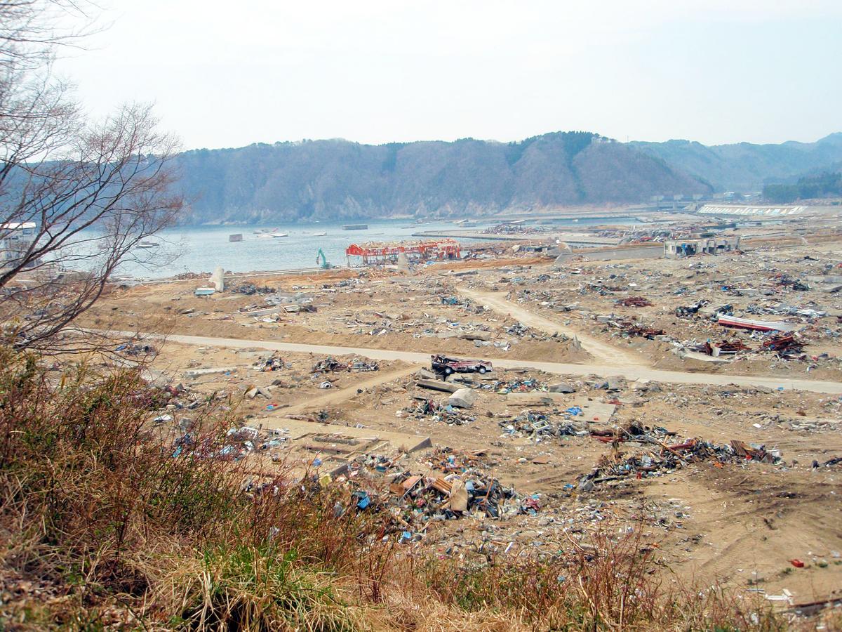 岩手県内の津波被害