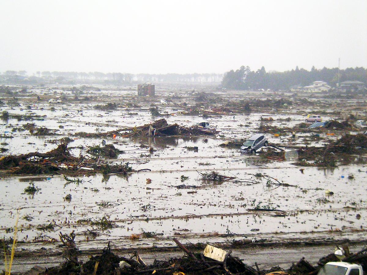 宮城県内の津波被害2