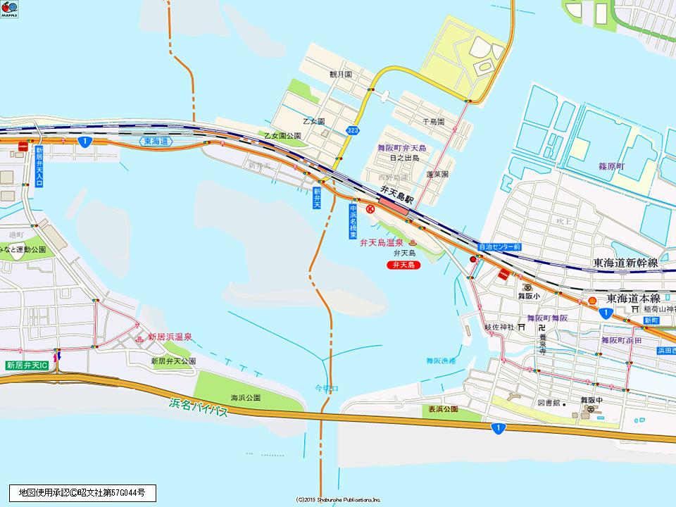 13_012 弁天島地図