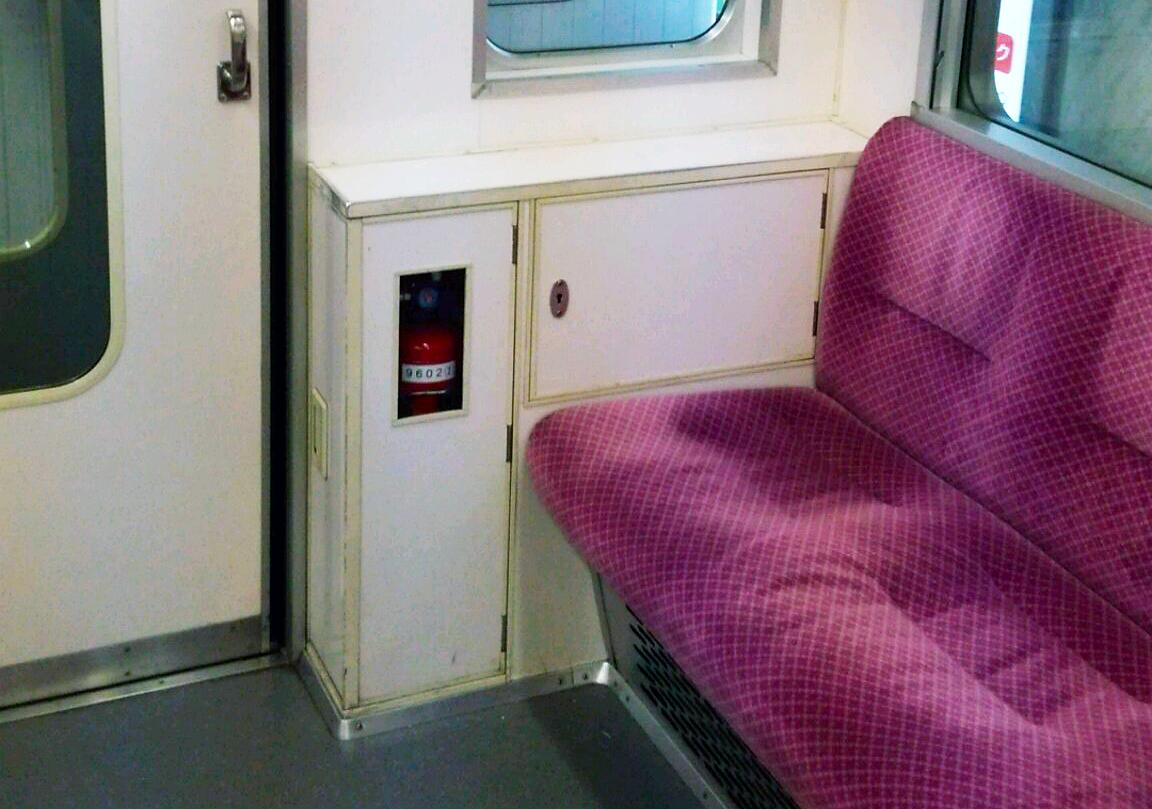 地下鉄車内写真2
