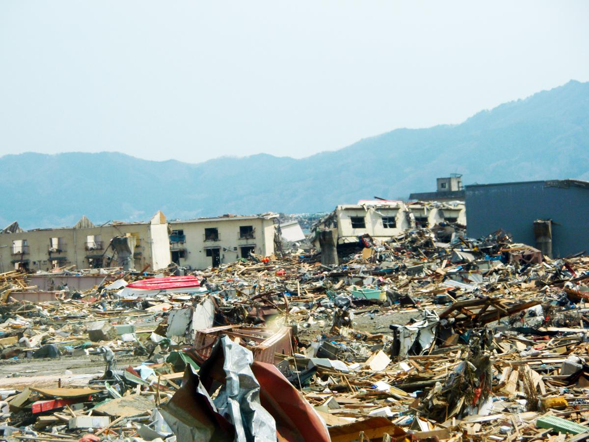 岩手県内の津波被害2